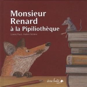 vignette de 'Monsieur Renard à la Pipiliothèque (Lorenz Pauli)'