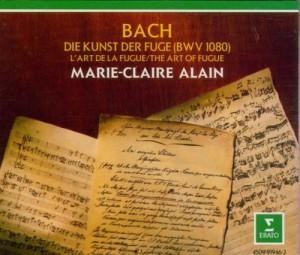 """Afficher """"Die Kunst der Fugue BWV 1080"""""""