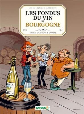"""Afficher """"Fondus du Vin (Les) fondus du vin de Bourgogne (Les)"""""""