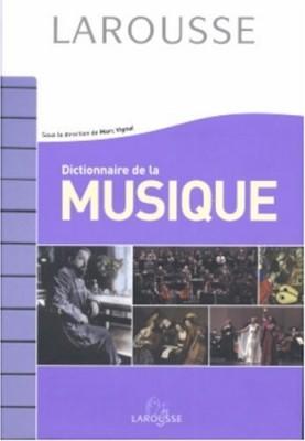 """Afficher """"Dictionnaire de la Musique"""""""