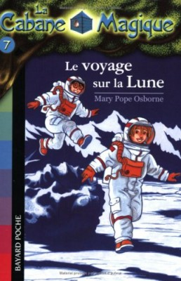 """Afficher """"cabane magique (La) n° 7 voyage sur la lune (Le)"""""""