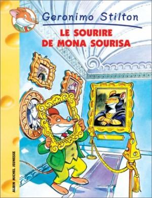 """Afficher """"Geronimo Stilton n° 1 Le sourire de Mona Sourisa"""""""