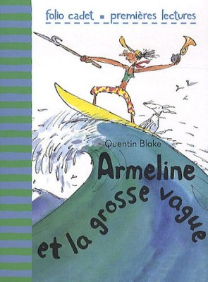 "Afficher ""Armeline et la grosse vague"""