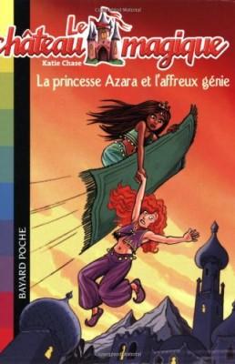 """Afficher """"Le château magique n° 1 La princesse Azara et l'affreux génie"""""""