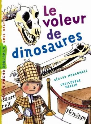 """Afficher """"Les enquêtes fabuleuses de FFF, le fameux Félix File-Filou Le voleur de dinosaures"""""""
