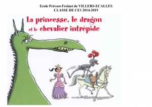 "Afficher ""La princesse, le dragon, et le chevalier intrépide"""