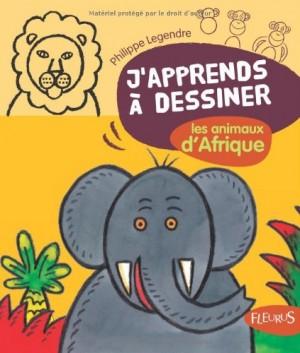 """Afficher """"J'apprends à dessiner les animaux d'Afrique"""""""