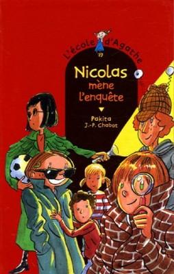 """Afficher """"L'Ecole d'Agathe n° 39 Nicolas mène l'enquête"""""""