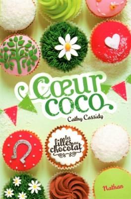 """Afficher """"Les filles au chocolat n° 04 Coeur coco"""""""