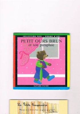 """Afficher """"PETIT OURS BRUN n° 2 ET SON PARAPLUIE"""""""