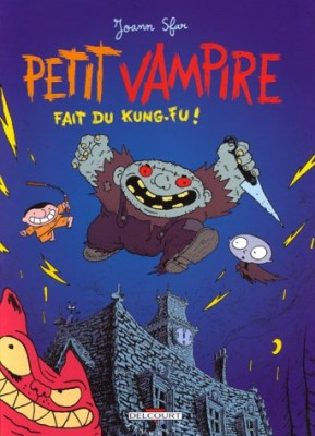 """Afficher """"Petit Vampire n° 1 Petit Vampire fait du kung-fu !"""""""