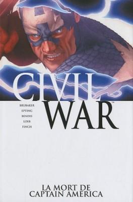 """Afficher """"Civil war n° 3La mort de Captain America"""""""