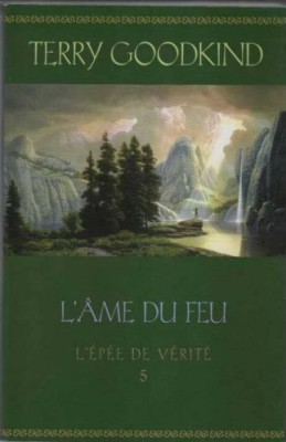 """Afficher """"L'épée de vérité n° 5 L'âme du feu"""""""