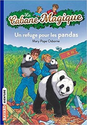 """Afficher """"La cabane magique n° 43 Un refuge pour les pandas"""""""
