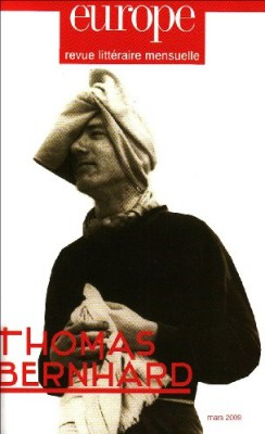 """Afficher """"Europe n° (2009)959 Thomas Bernhard"""""""