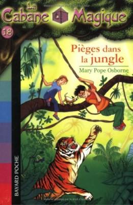 """Afficher """"La cabane magique n° 18 Pièges dans la jungle"""""""