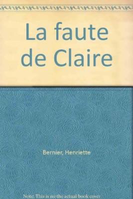 """Afficher """"La faute de Claire"""""""