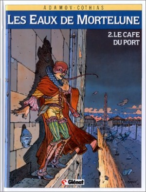 """Afficher """"Les Eaux de Mortelune n° 2 Le Café du port"""""""