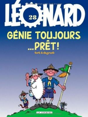 "Afficher ""Léonard n° 28 Génie toujours... prêt !"""