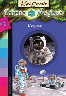 """Afficher """"Les carnets de la cabane magique n° 7L'espace"""""""