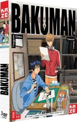 """Afficher """"Bakuman n° 1.1 Bakuman - Saisons 1 - Box 1/2"""""""