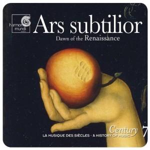 """Afficher """"Ars subtilior"""""""