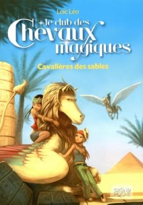 """Afficher """"Le club des chevaux magiques n° 11 Cavalières des sables"""""""