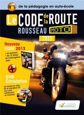 """Afficher """"Le code de la route Rousseau moto"""""""