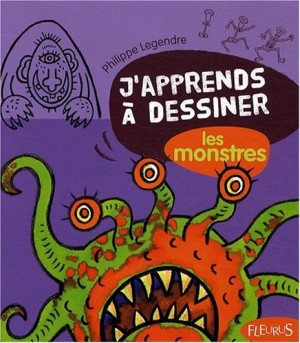 """Afficher """"J'apprends à dessiner les monstres"""""""