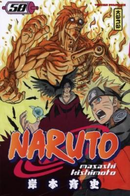 """Afficher """"Naruto n° 58 Naruto."""""""