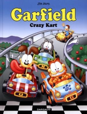 """Afficher """"Garfield n° 57 Crazy kart"""""""