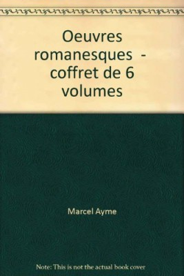 """Afficher """"uvres romanesques"""""""