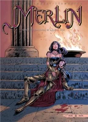 """Afficher """"Merlin n° 7 Le chaudron de Bran-le-Béni"""""""
