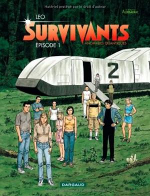 """Afficher """"Survivants, anomalies quantiques : les mondes d'Aldébaran n° 1 Survivants, anomalies quantiques"""""""