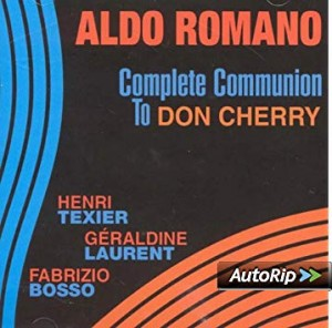 vignette de 'Complete communion to Don Cherry (Romano, Aldo)'