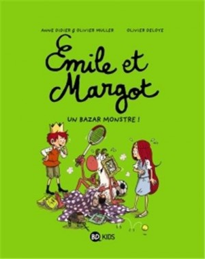 "Afficher ""Émile et Margot n° 3 Un bazar monstre"""