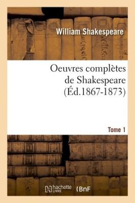 "Afficher ""Oeuvres complètes de Shakespeare"""