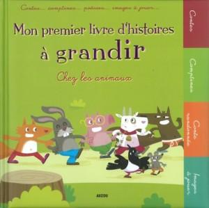 """Afficher """"Mon premier livre d'histoires à grandir"""""""