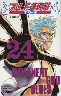 "Afficher ""Bleach n° 24 Immanent god blues"""