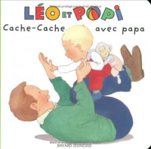 """Afficher """"Léo et Popi n° 9 Cache-cache avec papa"""""""