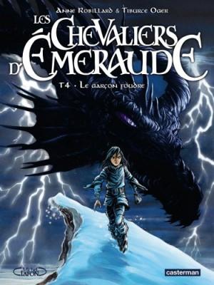 """Afficher """"Les Chevaliers d'Émeraude - BD n° 04 Le Garçon foudre"""""""