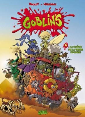 """Afficher """"Goblin's n° 4 La quête de la terre promise"""""""