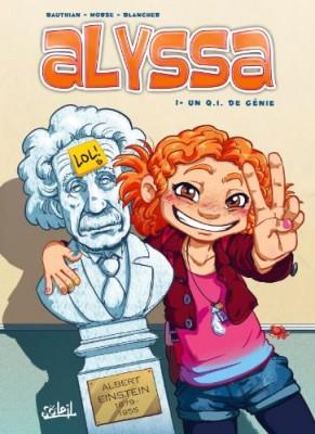 vignette de 'Alyssa n° 1<br /> Un Q.I. de génie (Isabelle Bauthian)'