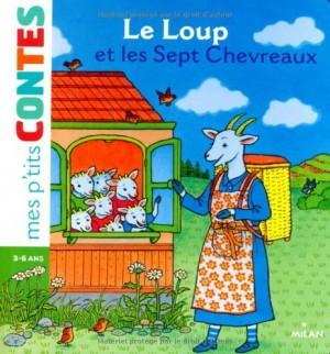 vignette de 'Le loup et les sept chevreaux (Moreau, camille)'