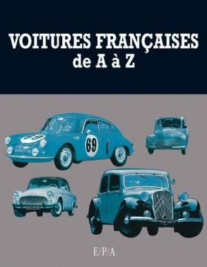 vignette de 'Voitures françaises de A à Z (Patrick Lesueur)'