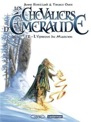 """Afficher """"Les Chevaliers d'Émeraude - BD n° 02 L'Épreuve du magicien"""""""