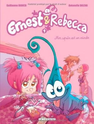 "Afficher ""Ernest & Rebecca n° 1Mon copain est un microbe"""