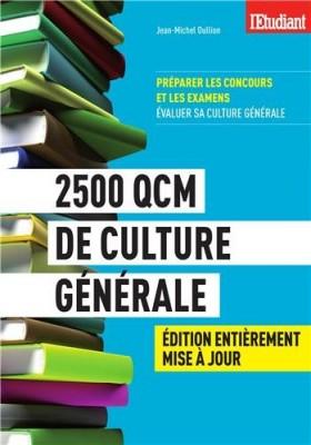 """Afficher """"2500 QCM de culture générale"""""""