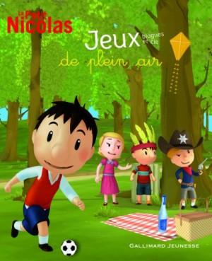"""Afficher """"Le petit Nicolas : jeux, blagues et cie de plein air"""""""