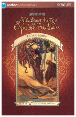 """Afficher """"Les désastreuses aventures des orphelins Baudelaire n° 9 La bête féroce"""""""